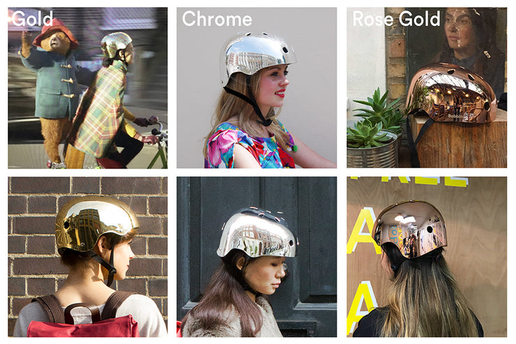 Mirror Mirror Helmet Rose Gold Copper