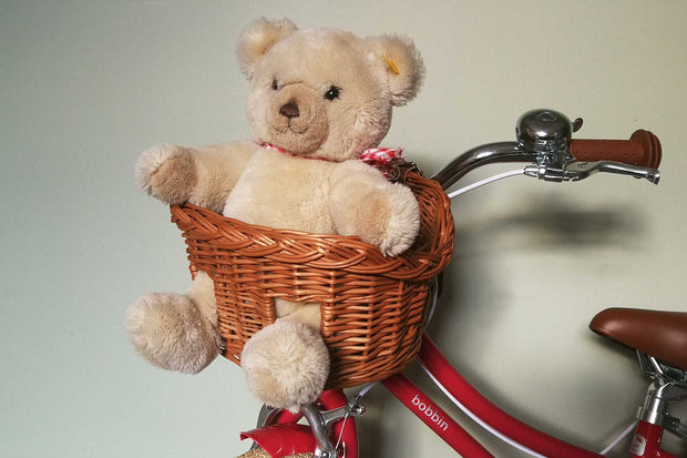 Teddy Wicker Basket