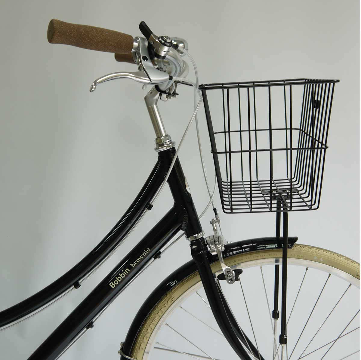 Steel Front Basket - Silver or Black