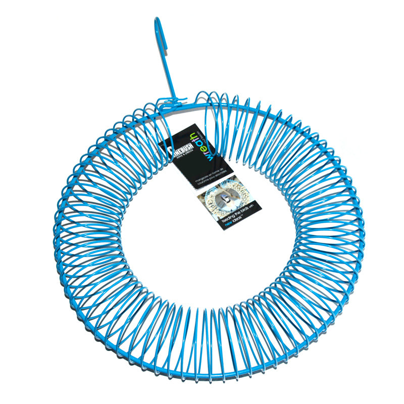 Peanut Feeder Wreath- Blue
