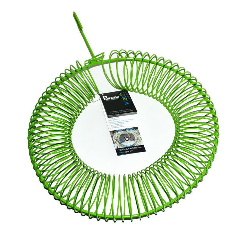 Wreath Peanut Feeder- Green