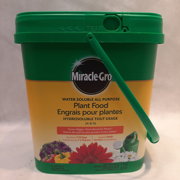 Miracle Gro All Purpose Water Soluable Plant Food 24-8-16
