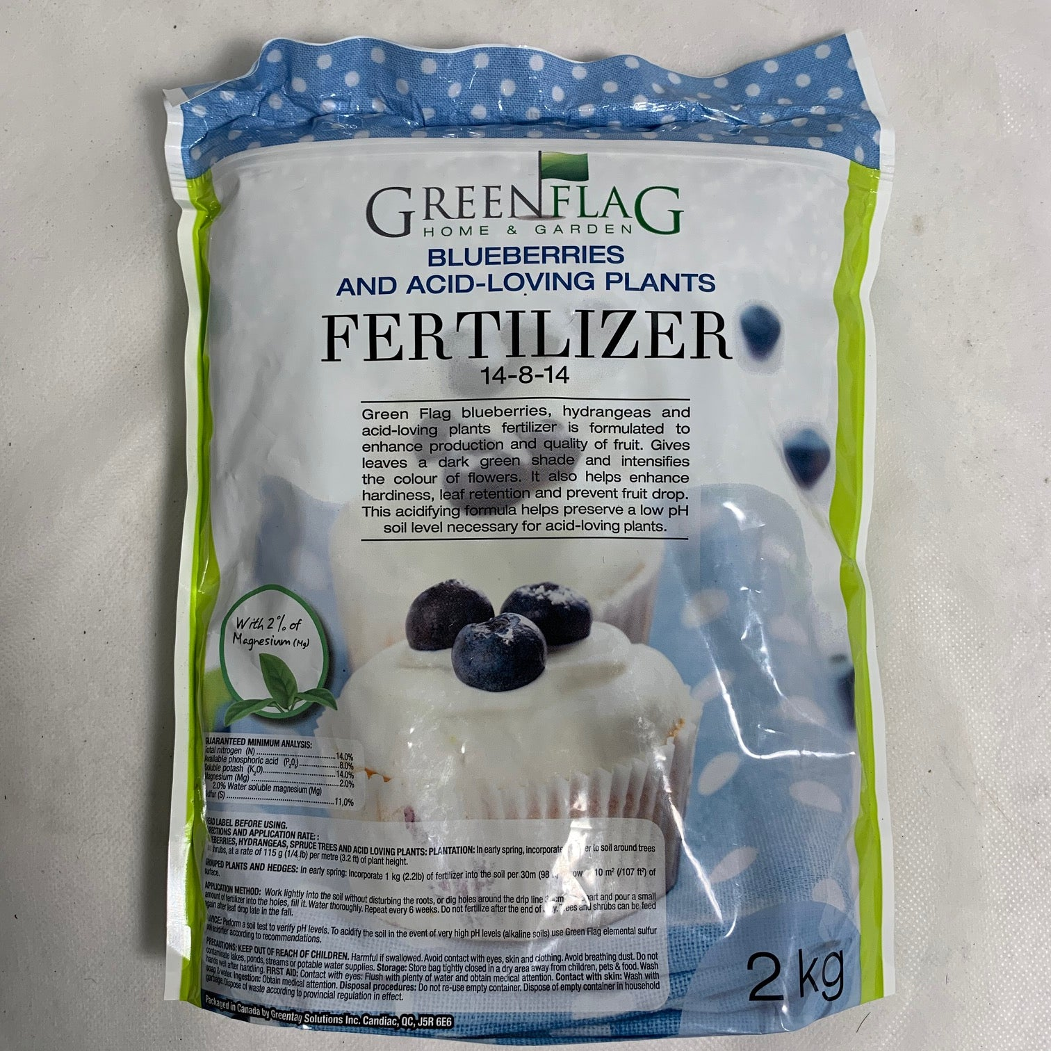 Blueberries & Acid Loving Plants Fertilizer 14-8-14