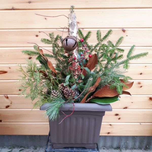 Festive Planter - Square Pot