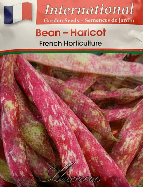 Bean Seeds- French Horticulture