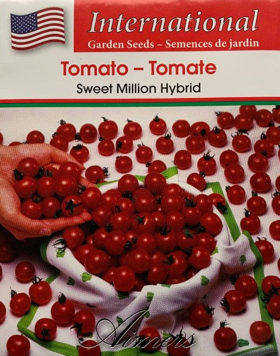 Tomato Seeds- Sweet Million Hybrid