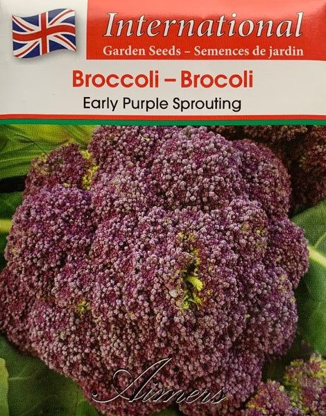 Broccoli Seeds- Early Purple Sprouting