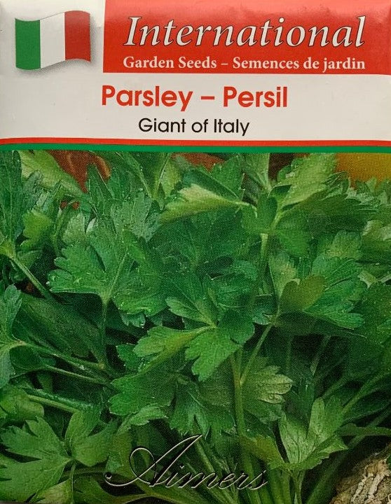 Parsley Seeds- Giant of Italy