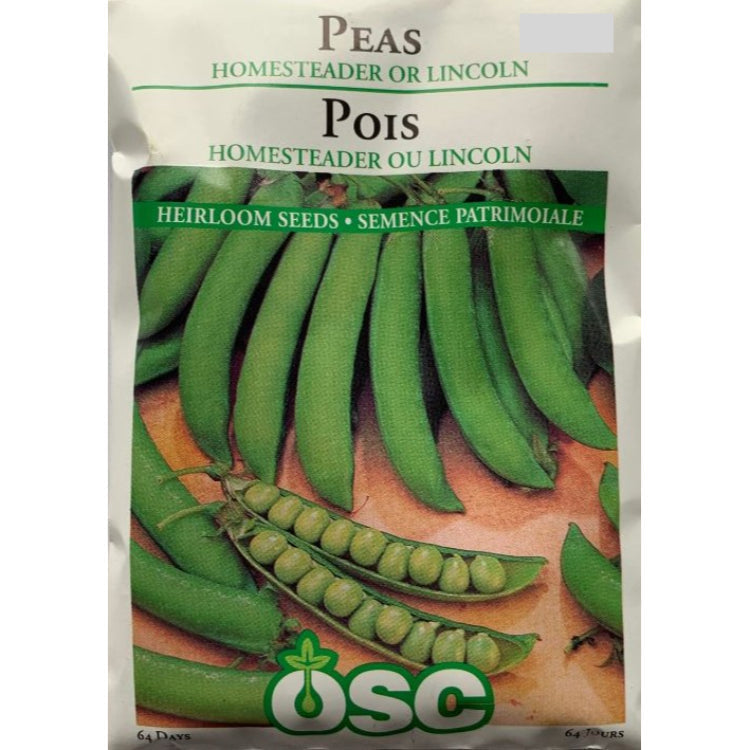 Peas Seeds- Homesteader Or Lincoln