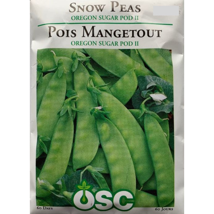 Peas Seeds- Oregon Sugar Pod II (Snow)