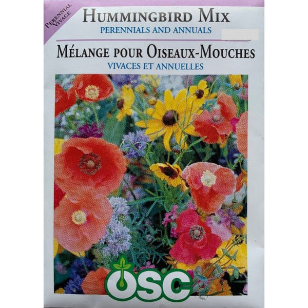 Perennial & Annual Seeds- Hummingbird Mix