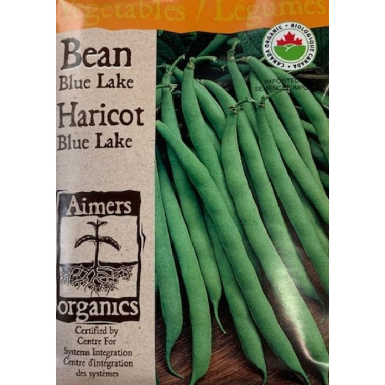 Organic Bean Seeds- Blue Lake