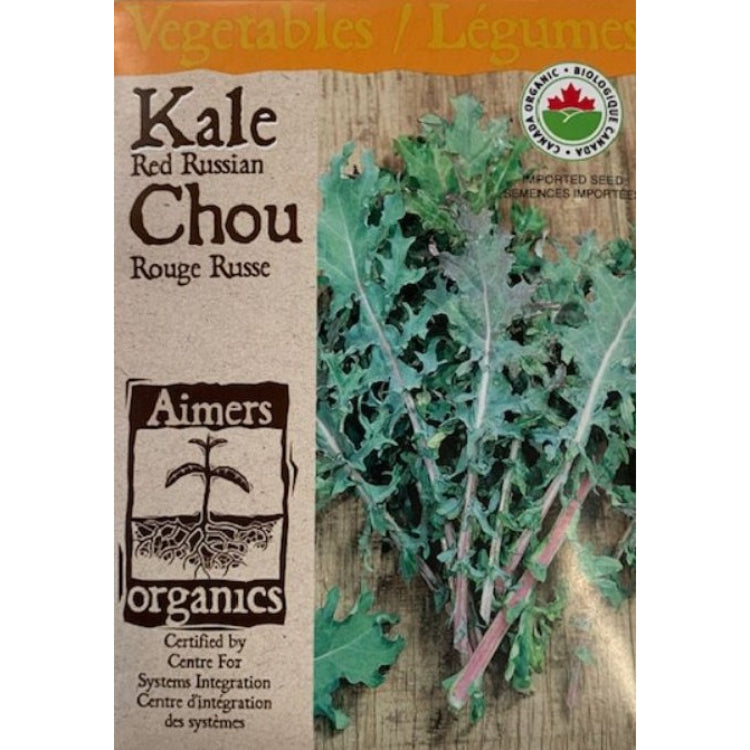 Organic Kale Seeds- Red Russian