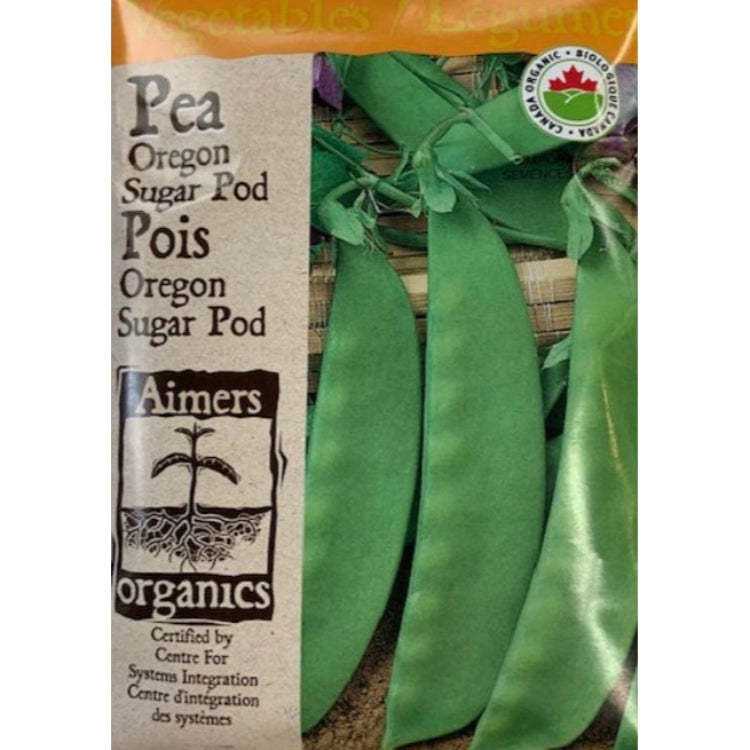 Organic Pea Seeds- Oregon Sugar Pod