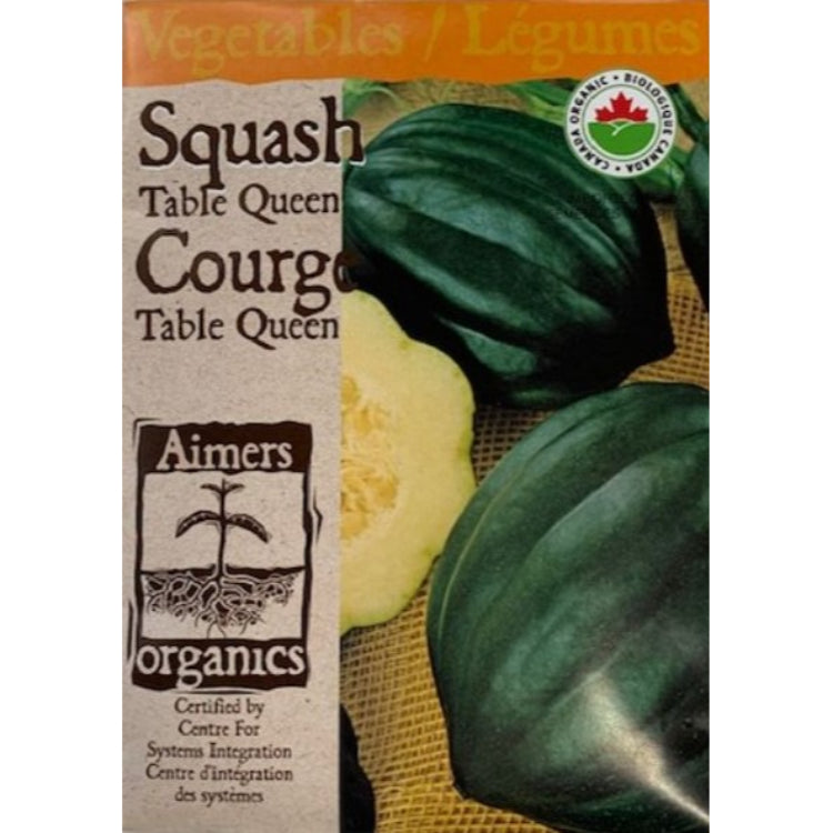 Organic Squash Seeds- Table Queen
