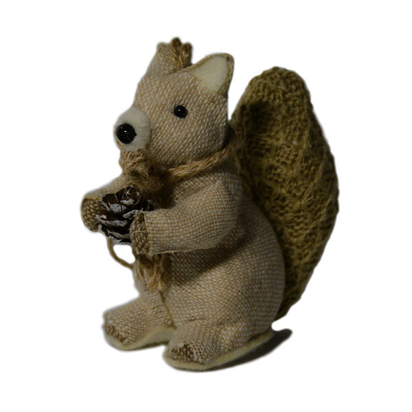 Squirrel With Nut Ornament