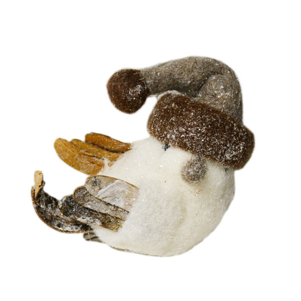 Wool Bird With Clip