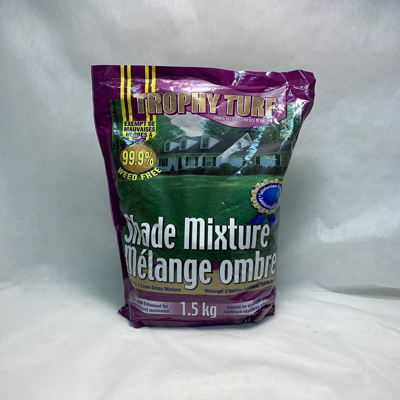 Lawn Grass Shade Mixture