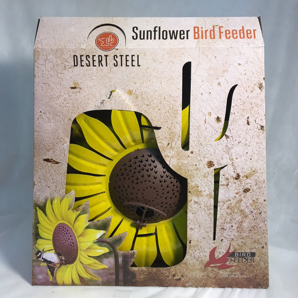 Sunflower Birdfeeder Metal