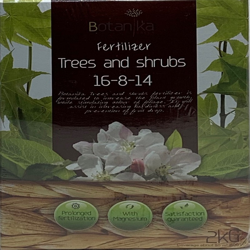 Trees and Shrubs Fertilizer 16-8-14