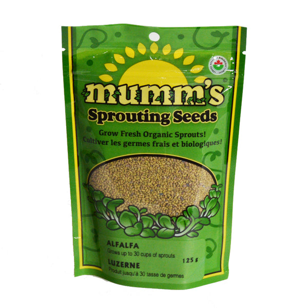 Mumm's Sprouting Seeds- Alfalfa