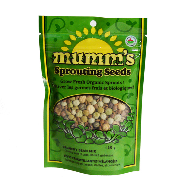 Mumm's Sprouting Seeds- Crunchy Bean Mix