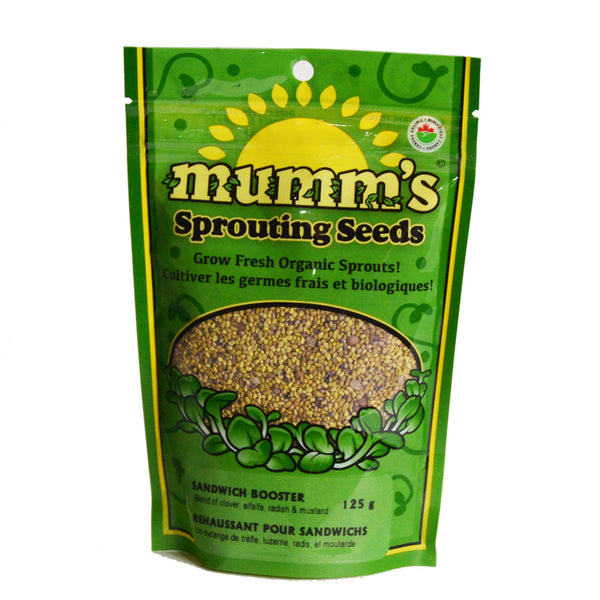 Mumm's Sprouting Seeds- Sandwich Booster