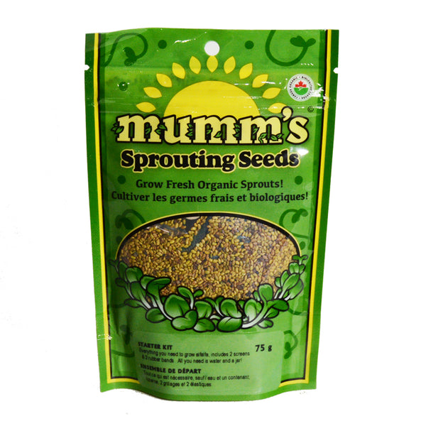 Mumm's Sprouting Seeds- Starter Kit