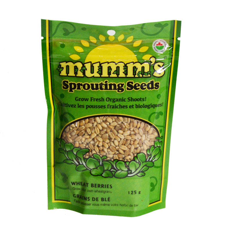 Mumm's Sprouting Seeds- Wheat Berries