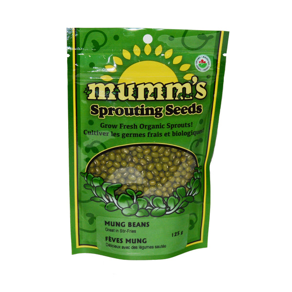 Mumm's Sprouting Seeds- Mung Beans