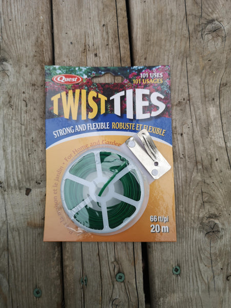 Twist Ties 66ft