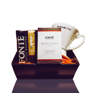 Fonté Perfect Home Brew Coffee & Tea Hamper