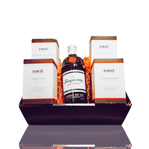 Speciality Gin Tea Hamper €60 (2 teas) or €85 (4 teas)