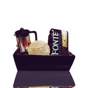 French Press and Coffee & Tea Selection Hamper