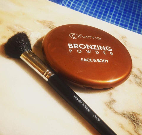 Flormar Bronzer and The Angled Blush P120