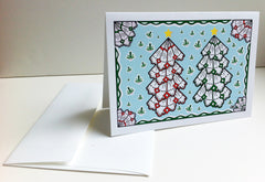 Photo of Christmas card with envelope