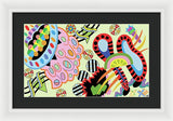 Candy World - Framed Print