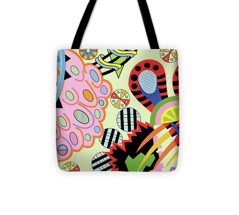 Candy World design on Tote Bag