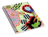 Candy World design notebook cover angle