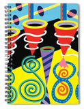 Discotheque design - notebook cover