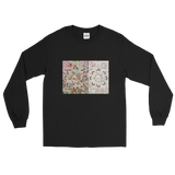 Snowflake Kaleidoscope - Men's Long Sleeve Shirt