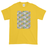 Flower Cups Short-Sleeve T-Shirt - Yellow Daisy