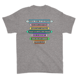 Back of Decoration Dogma T-Shirt - Sport Grey