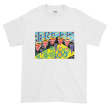 Discotheque design on t-shirt - White
