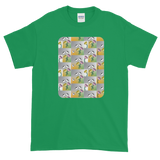 Flower Cups Short-Sleeve T-Shirt - Irish Green