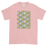 Flower Cups Short-Sleeve T-Shirt - Light Pink
