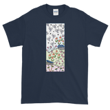 Rising Birds Unisex Short-Sleeve T-Shirt - Navy Blue