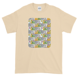 Flower Cups Short-Sleeve T-Shirt - Natural