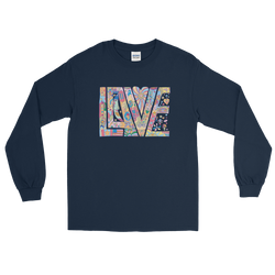 Love Letters - Men's Long Sleeve Shirt