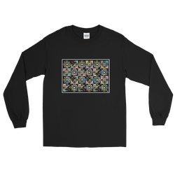 Flower Cage - Men's Long Sleeve Shirt